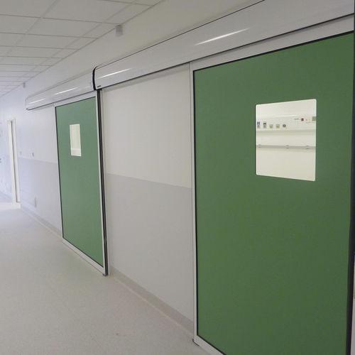 puerta industrial corredera - PORTALP INTERNATIONAL
