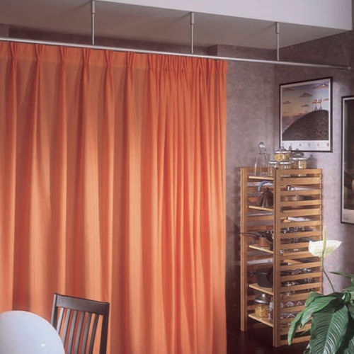 Riel para cortina para cortinas fruncidas / para uso profesional / para centro sanitario / para separación de ambientes ROUND 464-462 MOTTURA