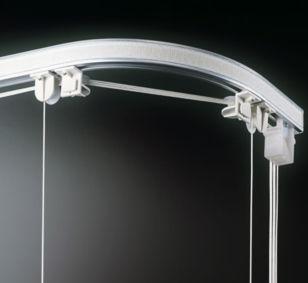 Sistema de apertura para cortinas plegable / accionado mediante cordones / para uso doméstico BASIC 414-427 MOTTURA