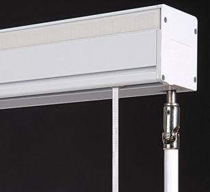 Sistema de apertura para cortinas plegable / accionado mediante cadena / accionado mediante manivela / para uso residencial SOFTBOX 467 MOTTURA