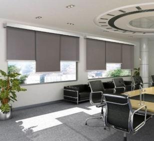 Estores enrollables / de tejido / para montaje en techo / con fijación mural ECLISSE FUTURA MOTTURA