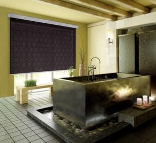 Estores enrollables / de tela / para montajes en techo / con fijación mural ECLISSE FUTURA MOTTURA