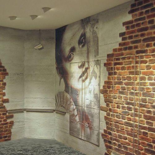 panel decorativo de fibra de vidrio / de piedra natural / para exteriores / de pared