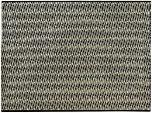 alfombra moderna / de rayas / de polipropileno / rectangular