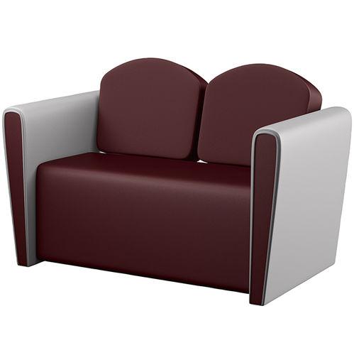 sofá clásico / de cuero / de tejido / para peluquería
