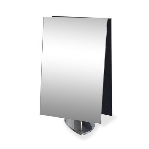 espejo de sobremesa / moderno / rectangular / para centro de estética