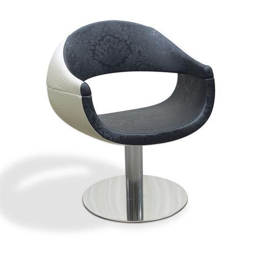 sillón de peluquería de cuero artificial - VEZZOSI