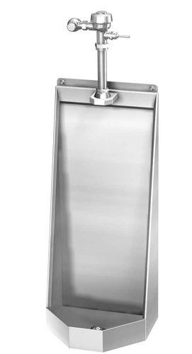 urinario de pared / de acero inoxidable