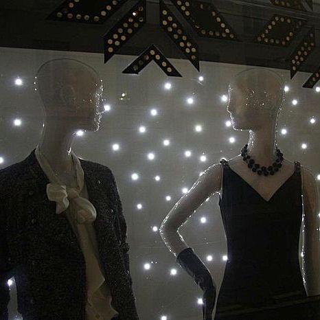 Luminaria LED / redonda / para escaparate MUR ÉTOILÉ KIPE Semeur d'étoiles