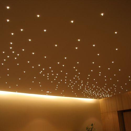 Plafón moderno / de vidrio / LED PLAFOND CENTRE SURBAISSE KIPE Semeur d'étoiles