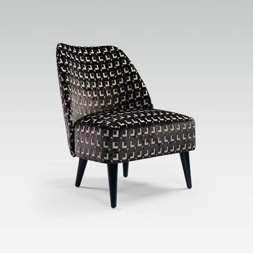 sillón bajo moderno / de tejido / profesional