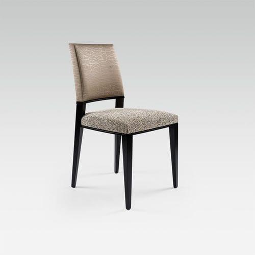 silla moderna / de tejido / de haya / para el sector servicios