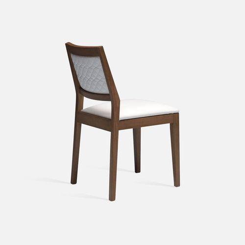 silla de restaurante clásica / tapizada / con reposabrazos / apilable