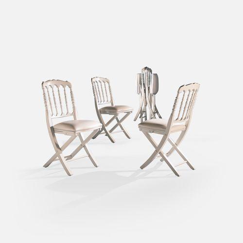 silla de conferencia plegable / tapizada / de haya / de tejido