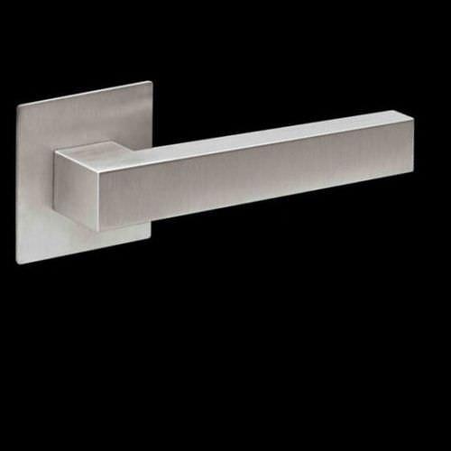 manilla de puerta / de acero inoxidable / moderna