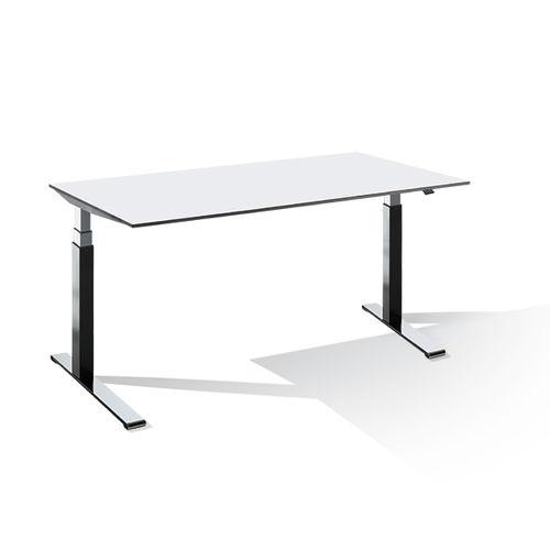 escritorio para open space / de chapa de madera / de metal / de HPL