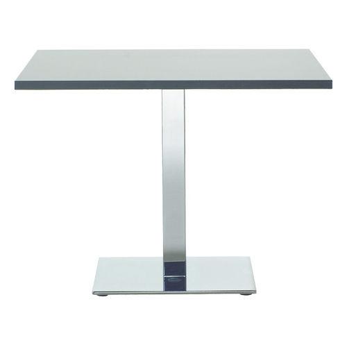 mesa de reuniones moderna / de metal / rectangular