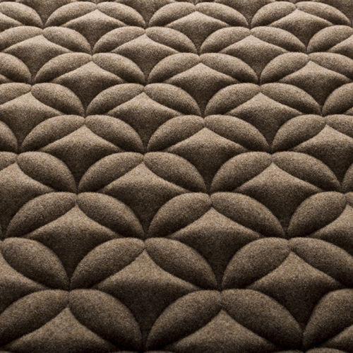 tela de tapicería / con motivos / de poliéster / de lana