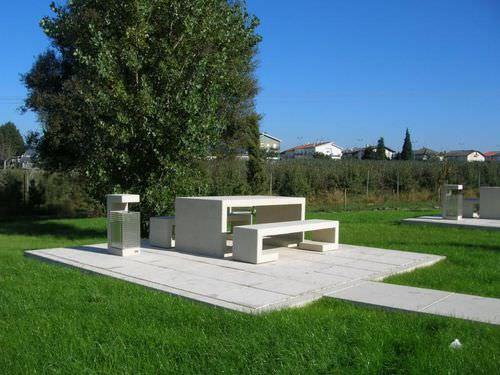 mesa de pícnic moderna - Amop Synergies