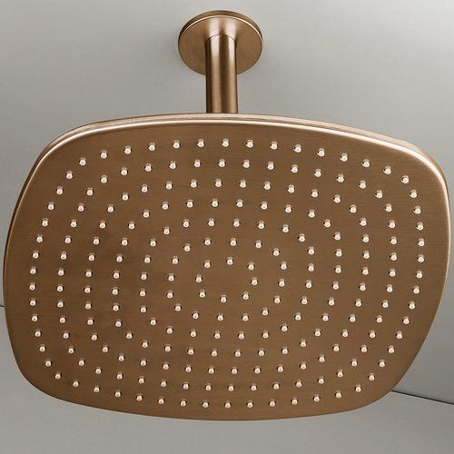 Rociador de ducha de techo / cuadrado / lluvia PB31 COPPER COCOON