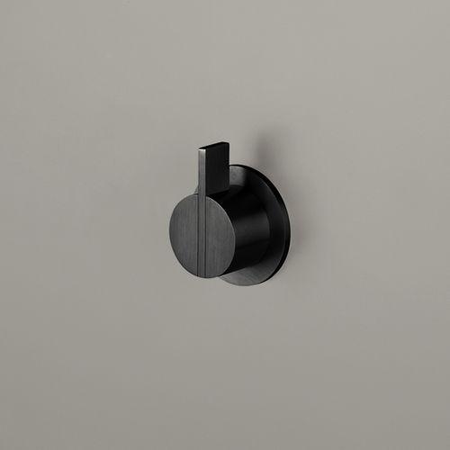 Grifo monomando para lavabo / para ducha / de pared / de acero inoxidable PB01 COCOON