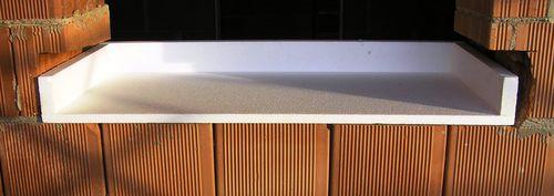 aislante térmico / de poliestireno expandido / para puerta / para ventana