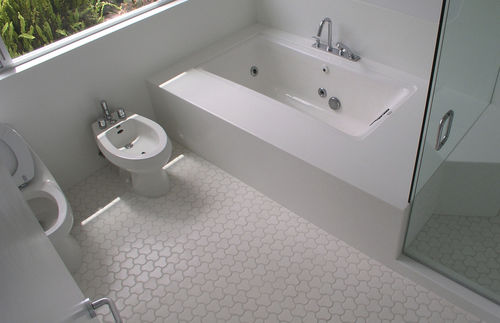 Baldosa de baño / de suelo / de cerámica / pulida BOM Daniel Ogassian