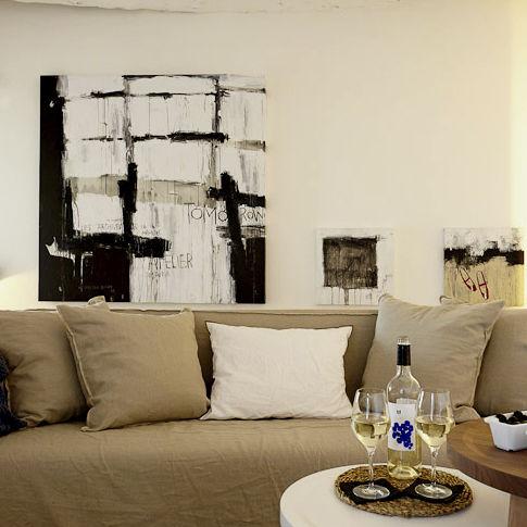 pintura acrílica - ICI ET LA