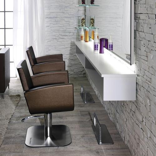 sillón de peluquería de cuero artificial - Salon Ambience