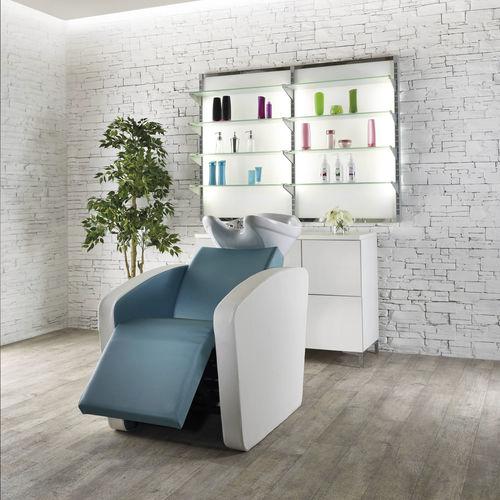 lavacabeza con reposapiés - Salon Ambience