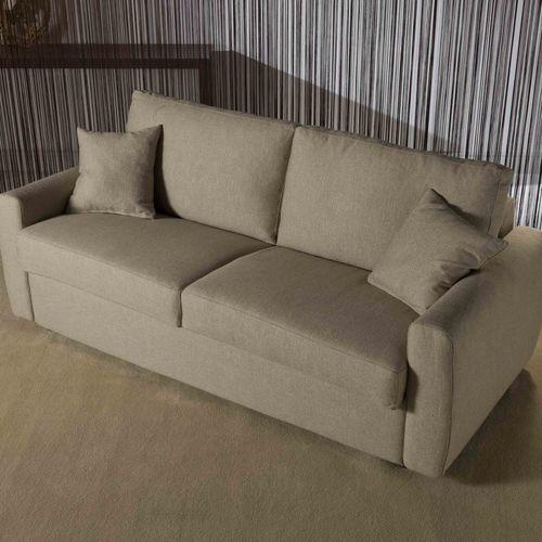 Sofá cama / moderno / de tela / 3 plazas FEDERICA Divani Santambrogio