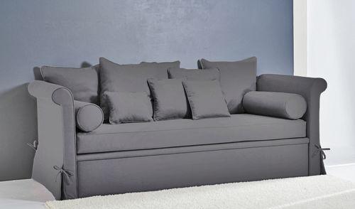 Sofá cama / clásico / de tejido / 3 plazas COMO : BROOKLYN Divani Santambrogio