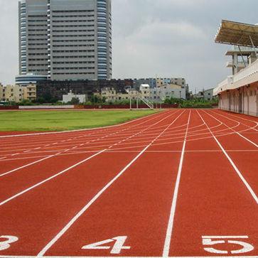pavimento deportivo de caucho / de EPDM / para exterior / para atletismo