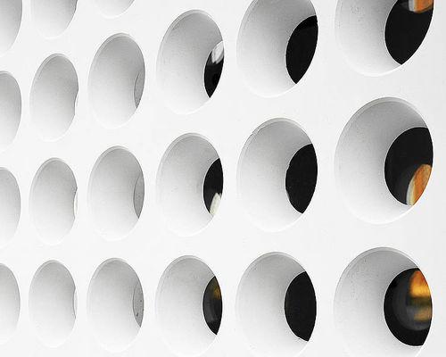 Revestimiento de fachada de hormigón reforzado con fibra / mate / de panel FIBRE C : 3D Rieder Smart Elements GmbH