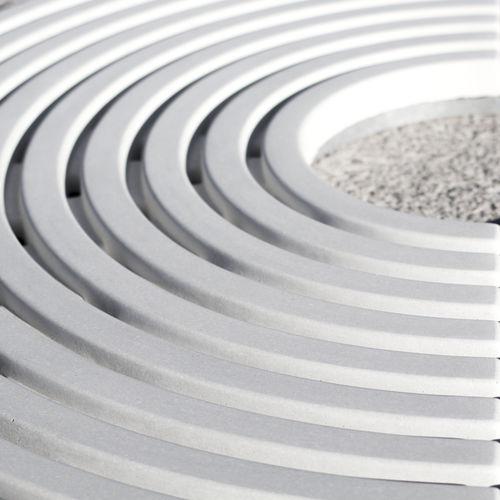 Cubrealcorques de hormigón / redondo / alta resistencia (BFUP) CIRCLE BELLITALIA