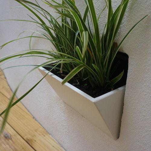 Maceta de jardín de fibrocemento / de pared / otras formas IRP25.20H20 - IMAGE'IN ATELIER SO GREEN