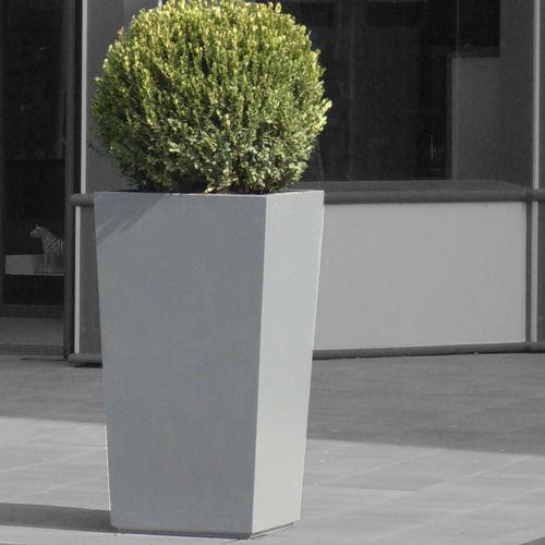 Jardinera de fibrocemento / cuadrada / a medida / moderna IPP70H110 - IMAGE'IN ATELIER SO GREEN