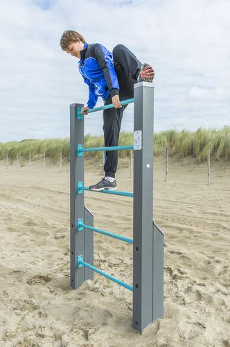 Escalera elevada para recorrido deportivo / de madera / de acero 081282M Lappset