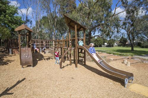 Estación de juego de madera / para parque infantil 175520 Lappset