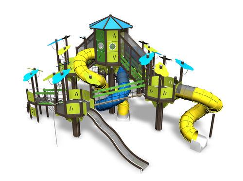 Estación de juego de madera / de HPL / para parque infantil / modulable 137760 Lappset