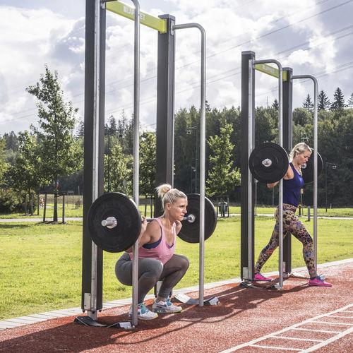 máquina de musculación squat / de exterior