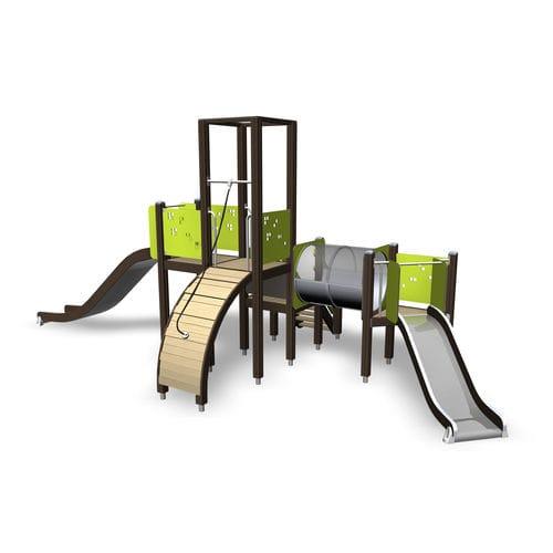 Estación de juego de madera / para parque infantil 137031M Lappset