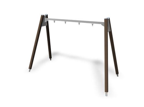 Columpio de madera / de acero / para parque infantil 137415M Lappset