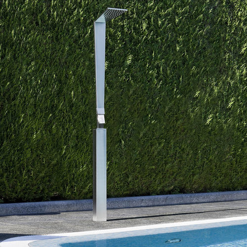 columna de ducha con alcachofa