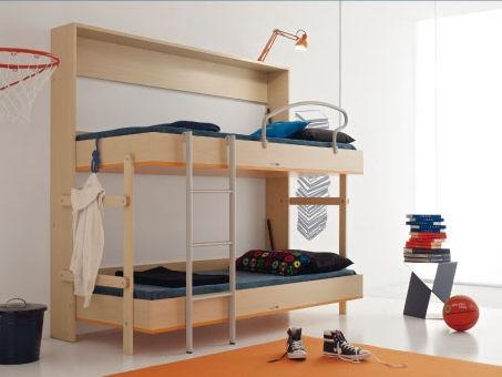 litera / abatible / moderna / de madera