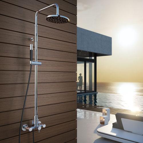 columna de ducha para el sector servicios / con alcachofa