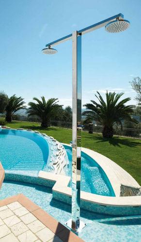 Ducha par jardín para piscina / acero inoxidable IDRA Q8.6/2 Fontealta