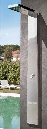 Ducha par jardín para piscina / acero inoxidable IN&OUT P22 MIX Fontealta