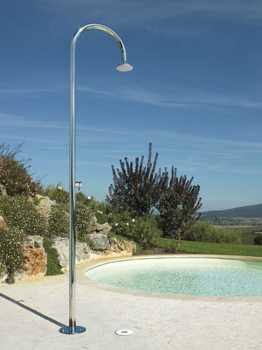 Ducha par jardín para piscina / acero inoxidable ORIGO: C50 Fontealta