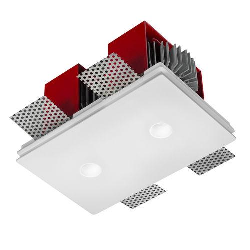 foco empotrable / de interior / LED / cuadrado
